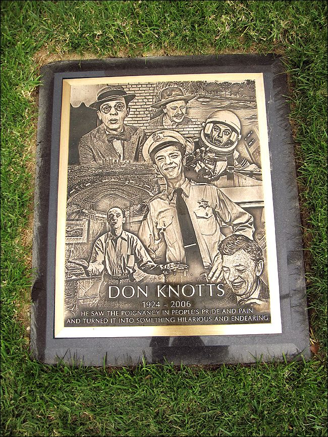 Don Knotts, he saw the poignancy in peoples pride and pain and turned it into something hilarious and endearing.