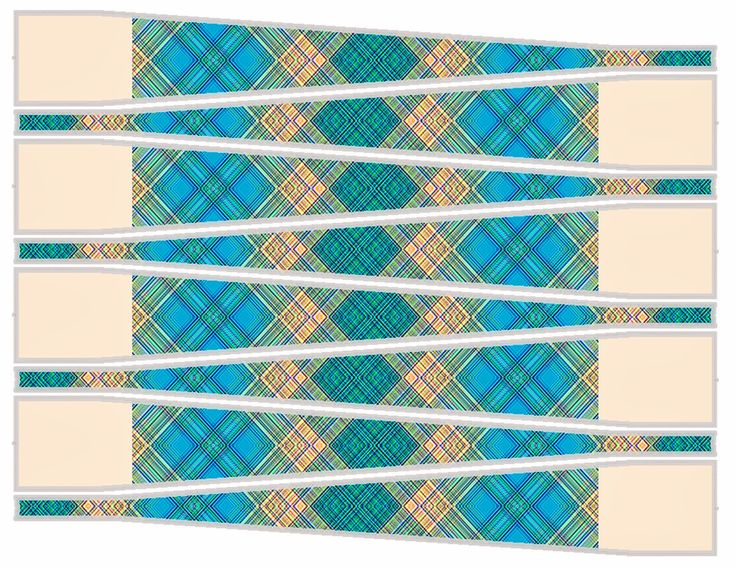 Round Paper Beads Template | ... paper beads with printed Bead Triangles - Make all your beads exactly