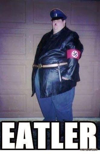 nice Fat Hitler Eatler Nazi Meme | Funny Joke Pictures
