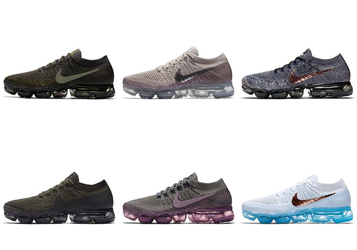 The Nike VaporMax will release in 7 brand new colorways starting June 29th. Check out all of the Nike VaporMax looks here and stay tuned for more updates:
