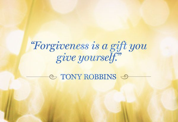 Forgiveness-We are all here to learn, we all makes mistakes. Don't dwell, move on. Love and forgive yourself. Hold yourself, hug yourself. Your a perfect reflection of a human being who is imperfect at times......moving forward doing better.