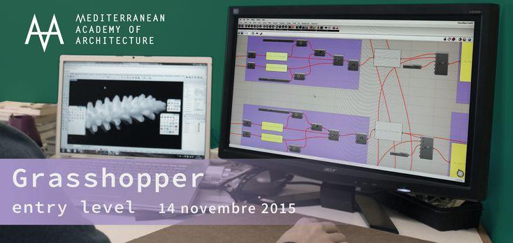 Medaarch – Corso base Grasshopper – sabato 14 novembre 2015 al Mediterranean FabLab