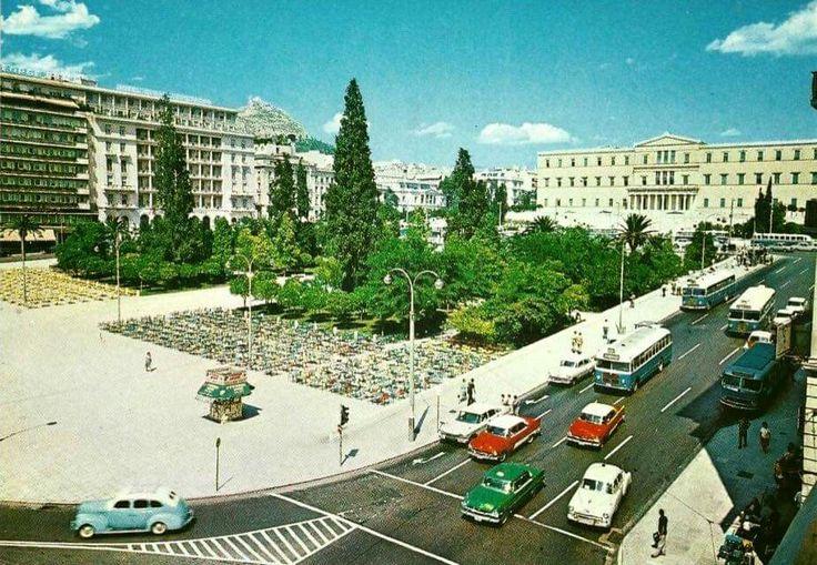 Πλατεία Συντάγματος 60's