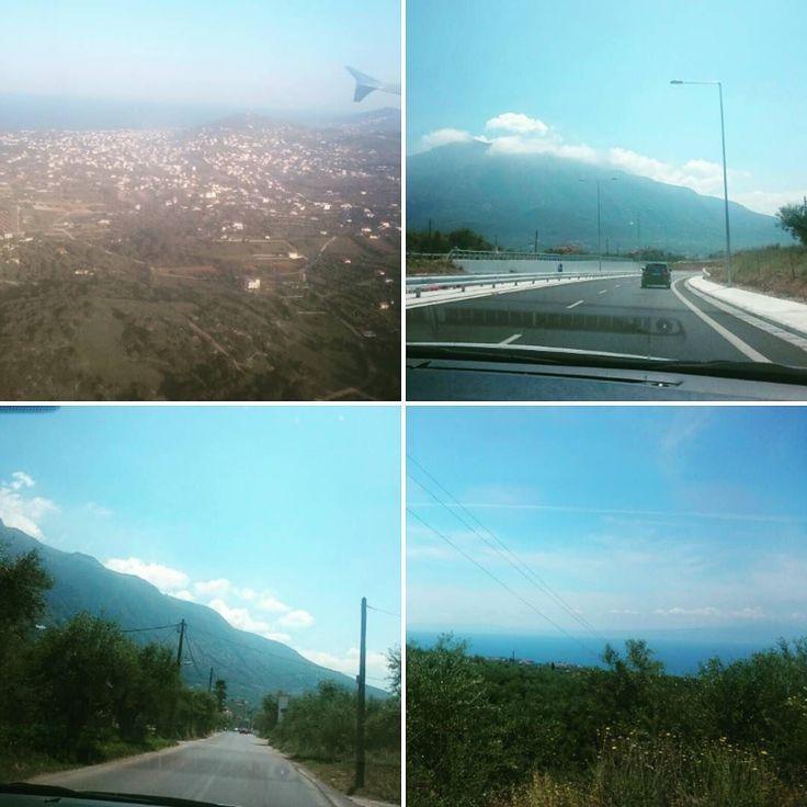 vi landade i #Aten och fortsät med bilresan mot #Peloponnesos och #Kalamata för att komma till målet : #Stoupa #Grekland