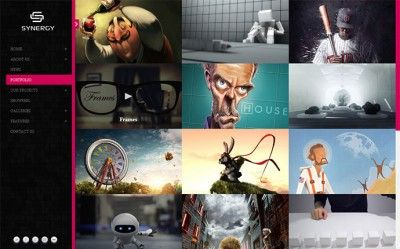 70 Cool Website Templates For Artists Photographers & Designers | Cool Graphic & Web Design Blog