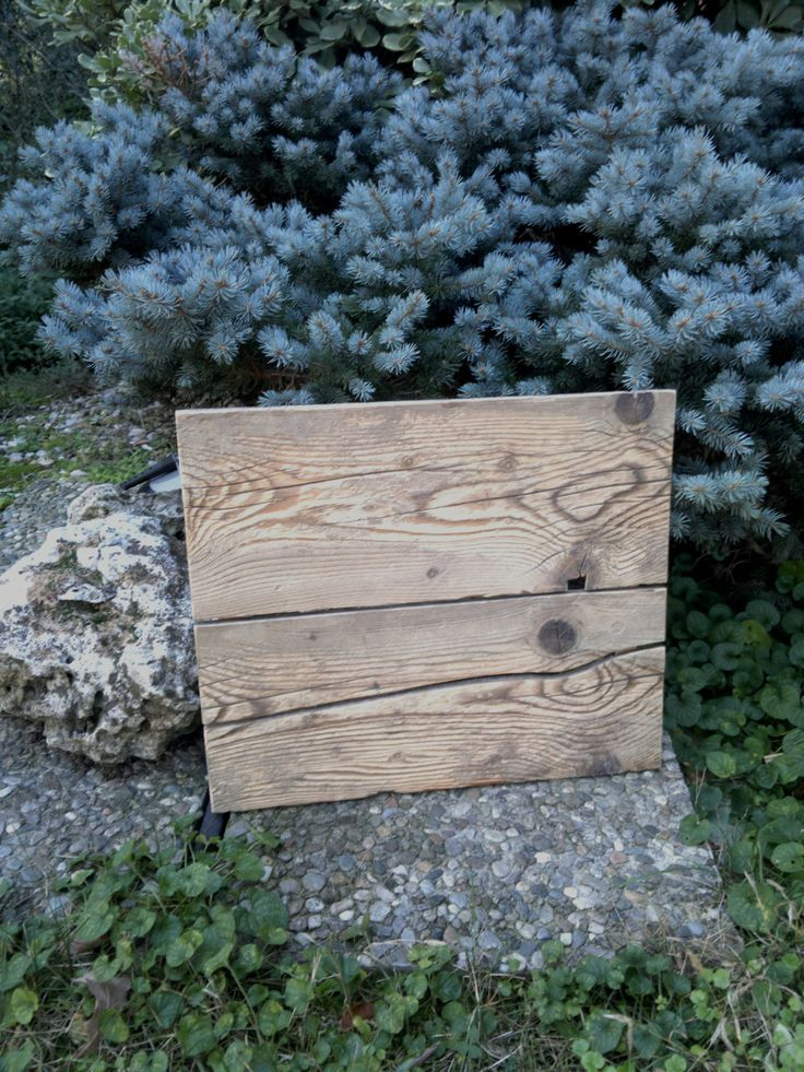 Pannello decorativo rustico in legno di recupero, decorazione da parete, targa con scritta ricordo, anniversario, pannello promemoria di Engardina su Etsy