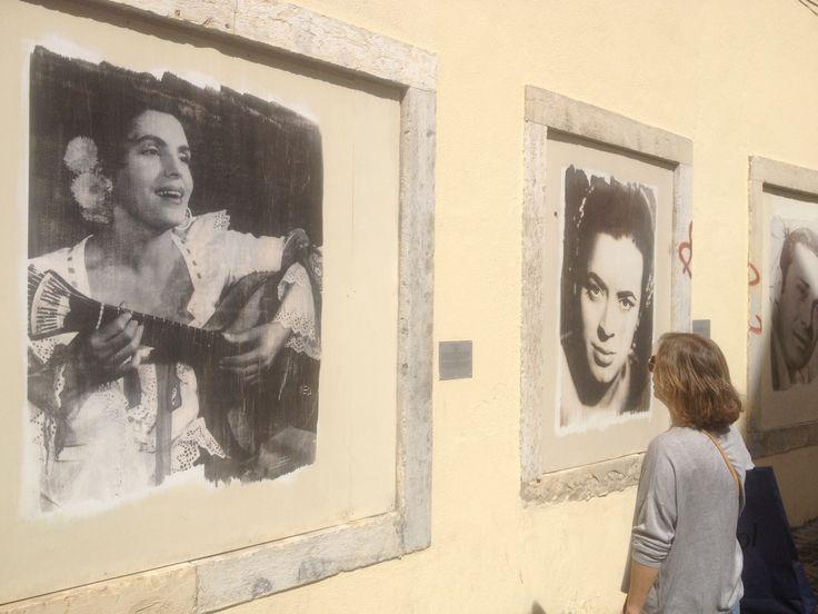Fado artists. Mouraria - Lisbon.