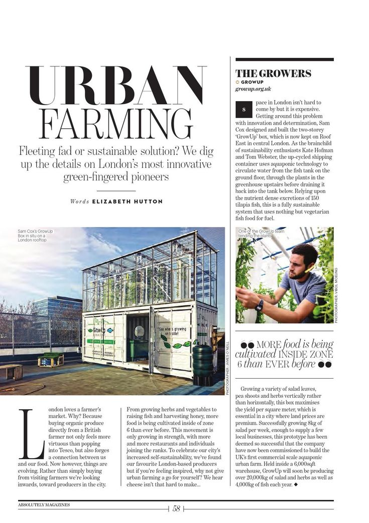 urban hydro farming sustainable solutions to depleting Growup urban farms is committed to feeding people in cities in a way that is positive for communities and the environment, today and in the future we produce sustainable fresh fish, salads and herbs in cities using a combination of aquaponic and vertical growing technologies.