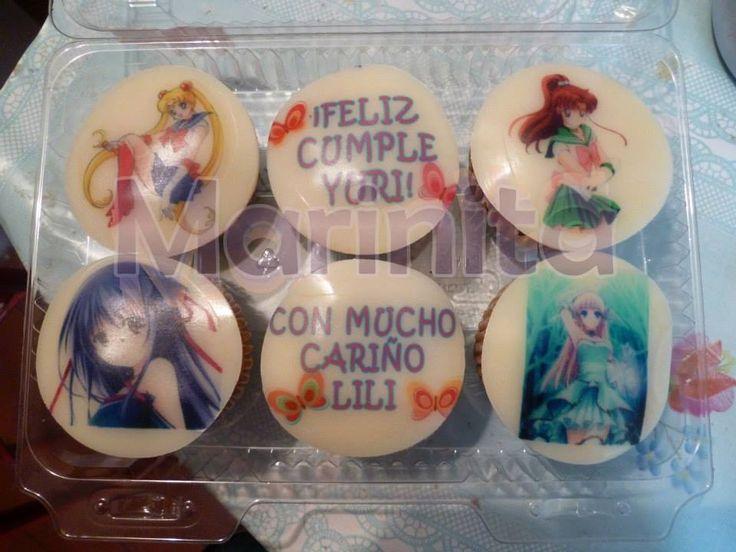 Cupcakes personalizados con mensajes e imágenes!