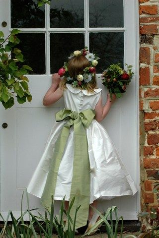 Flower Girl Dresses & Page Boy Outfits (BridesMagazine.co.uk)                                                                                                                                                                                 More