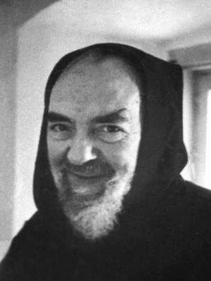 Padre Pio: What a beautiful smile!