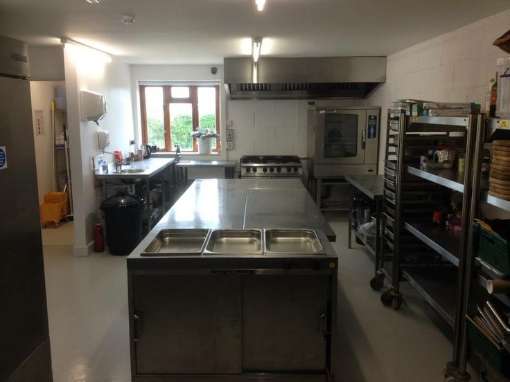 Our New Catering Kitchen All Ready To Go!