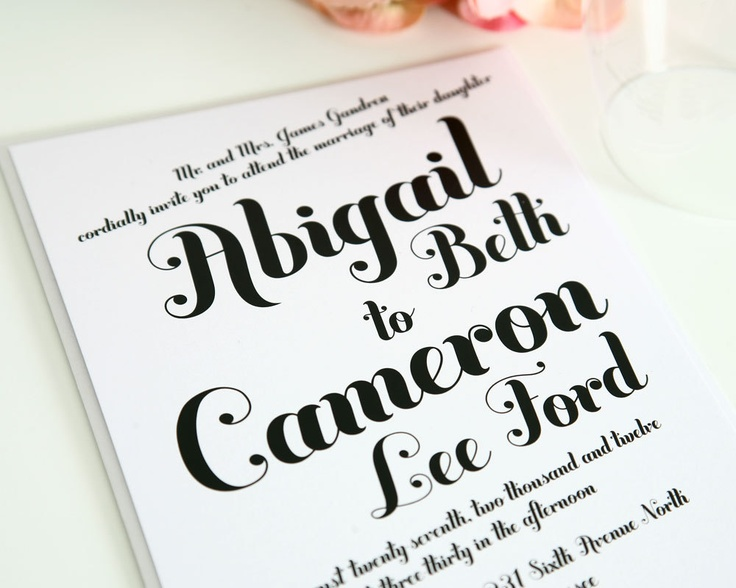 The 25+ Best Casual Wedding Invitations Ideas On Pinterest | Casual Wedding  Invitation Wording, Wedding Invitation Wording And Typography Wedding Suites
