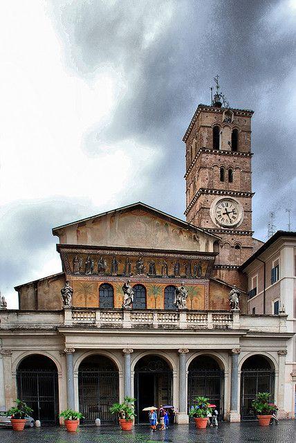 Santa Maria del Trastevere, Rome, Italy