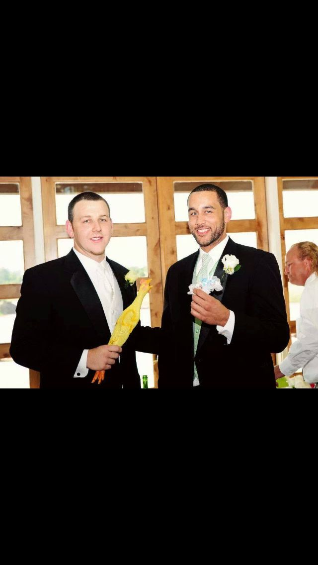 Groom and Best Man.
