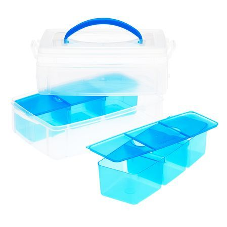 Snapware® Snap U0027N Stack® Plastic Home Storage Containers Include Stackable  Trays That Separate And Keep Items Organized. Perfect For Crafts, Office  Supplies ...