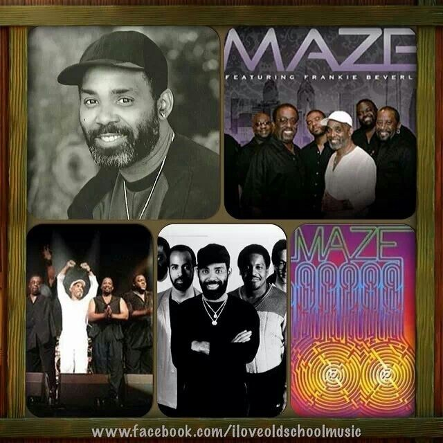 artists maze featuring frankie beverly