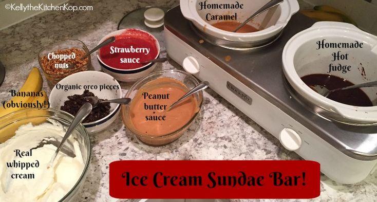 Ice Cream Sundae Toppings