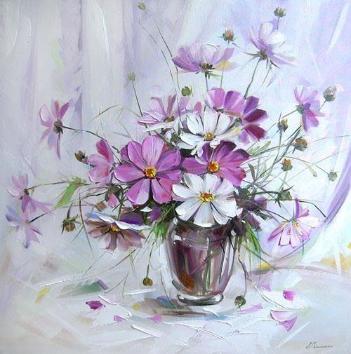 Lyudmila Scripcenco - Vas cu flori