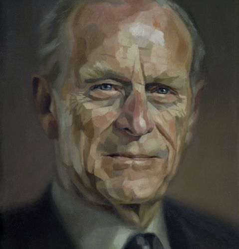 Prince Philip 2008. light and dark make his face almost three dimensional...very cool.