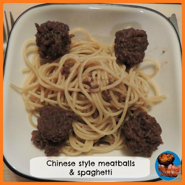 Chinese style meatball and spaghetti #meatballs #groundbeef #spaghetti ...