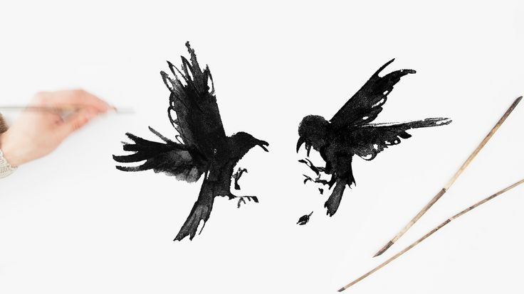 Raging Ravens by Teemu Järvi Illustrations http://www.teemujarvi.com/en/shop/products/92-raging-ravens.html Photo: Kaisa Rautaheimo