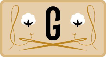 Georgette - Stof om over na te denken - ecologische stoffen!