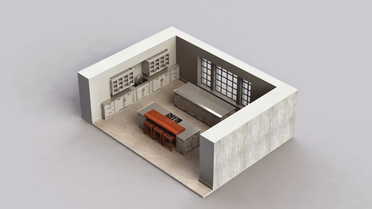 markas studio: White Kitchen Design (complete)