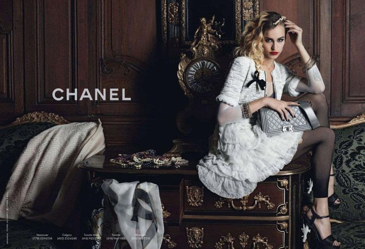 Chanel Boy ad campaign with Alice Dellal by Karl Lagerfeld - Pursuitist