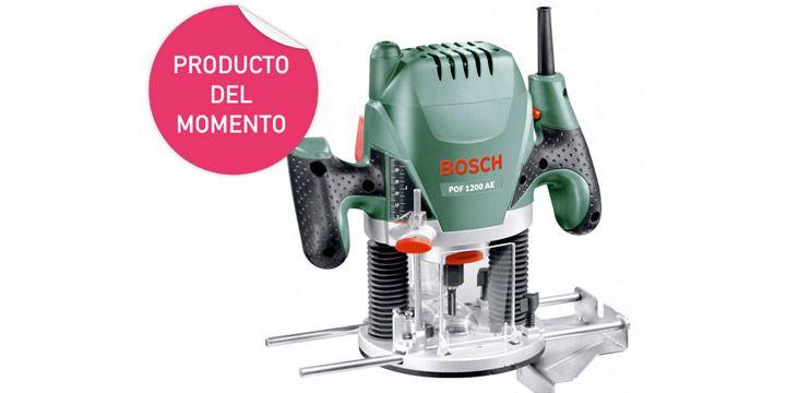 Fresadora Bosch POF 1200 AE. AHORRO 15%. 85.27€. #ofertas #descuentos