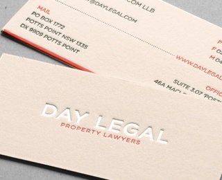81 best business cards images on pinterest business cards carte day legal cotton letterpress business card by taste of ink studios via creattica reheart Images