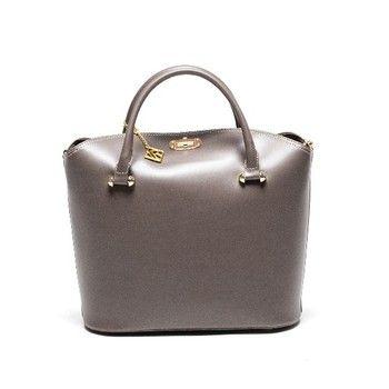 Kožená kabelka Isabella Rhea 396 Fango | Bonami