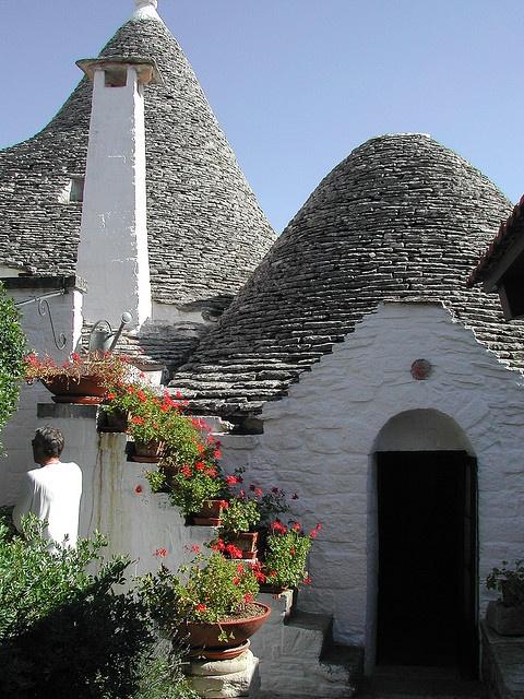 Trulli di Alberobello, Puglia...  inimaginable lugar