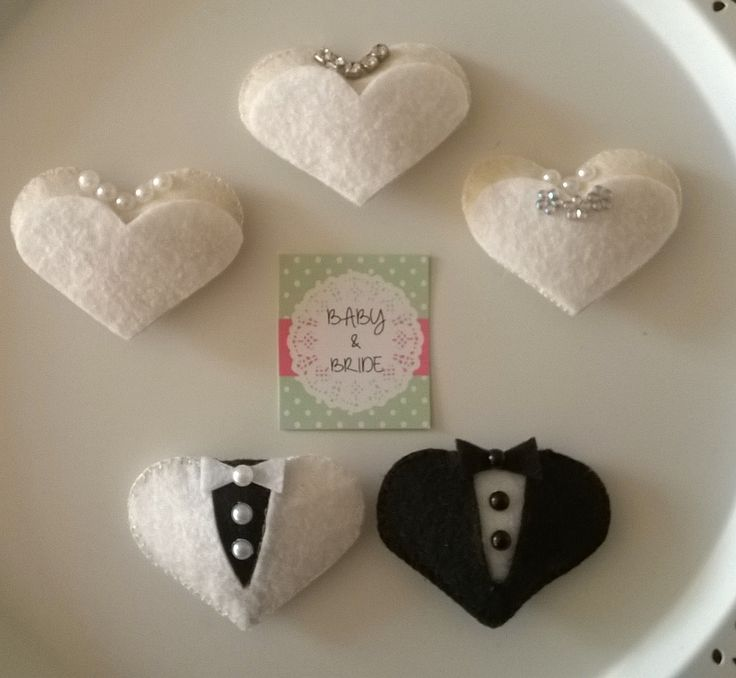 Elyaf dolgulu Gelin & Damat Magnetler - Fiber filled magnets for Wedding souvenir