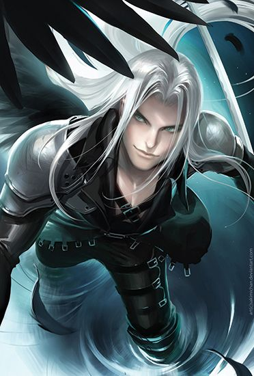 Sakimichan Art Shop | Sephiroth Poster | Online Store Powered by ...