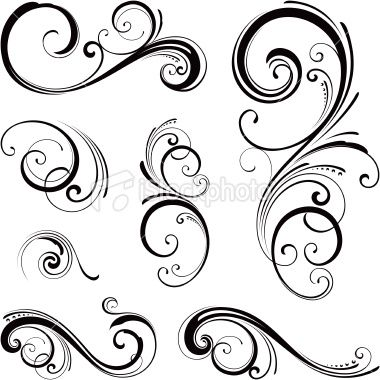 Abstract swirl tattoo swirl heart tattoo graphics code for Swirl tattoo designs