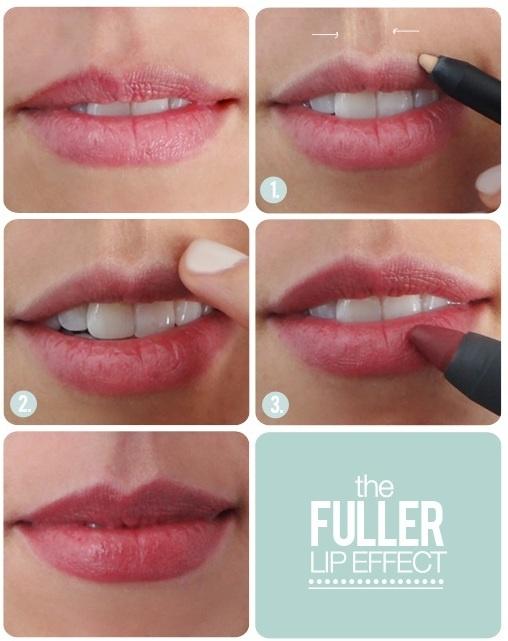DIY para valorizar os lábios finos