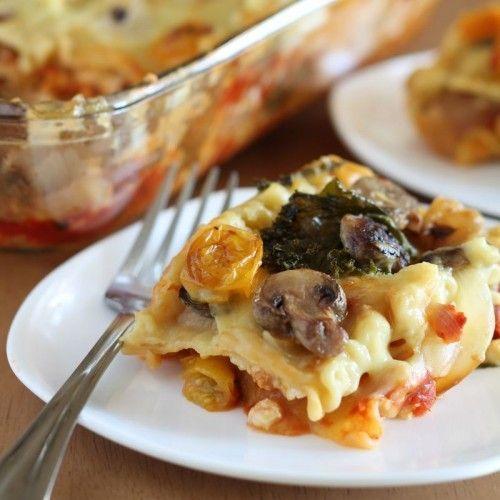 Vegan Roasted Vegetable Lasagna