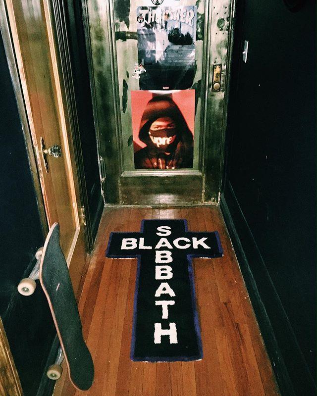Supreme®/Black Sabbath© - Rug by Gallery1950®