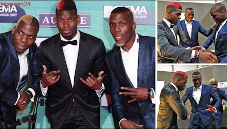 Pogba Brothers Dances At MTV Music Awards This Sunday