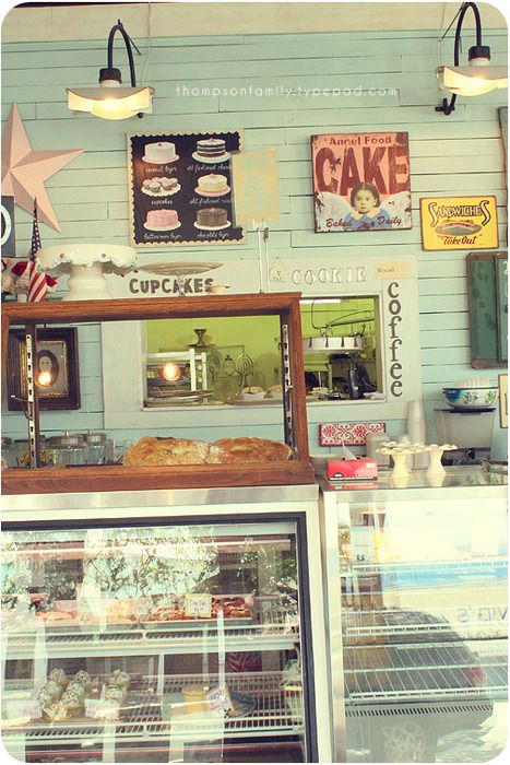 I search for small bakeries like this. To choose one homemade treat to go with coffee...oh, that is wonderful.