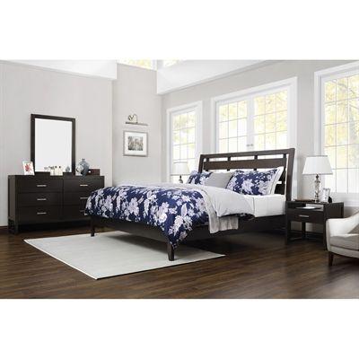 Domus Vita Design 5P-KLY Bordeaux 4-Piece Bedroom Set