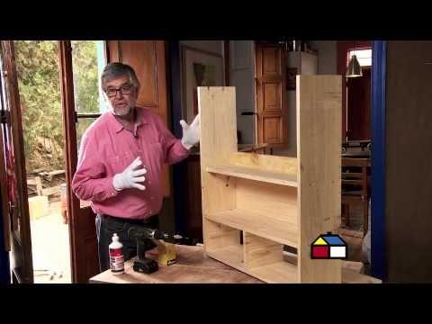 ¿Cómo hacer una alacena rústica para la cocina? - YouTube