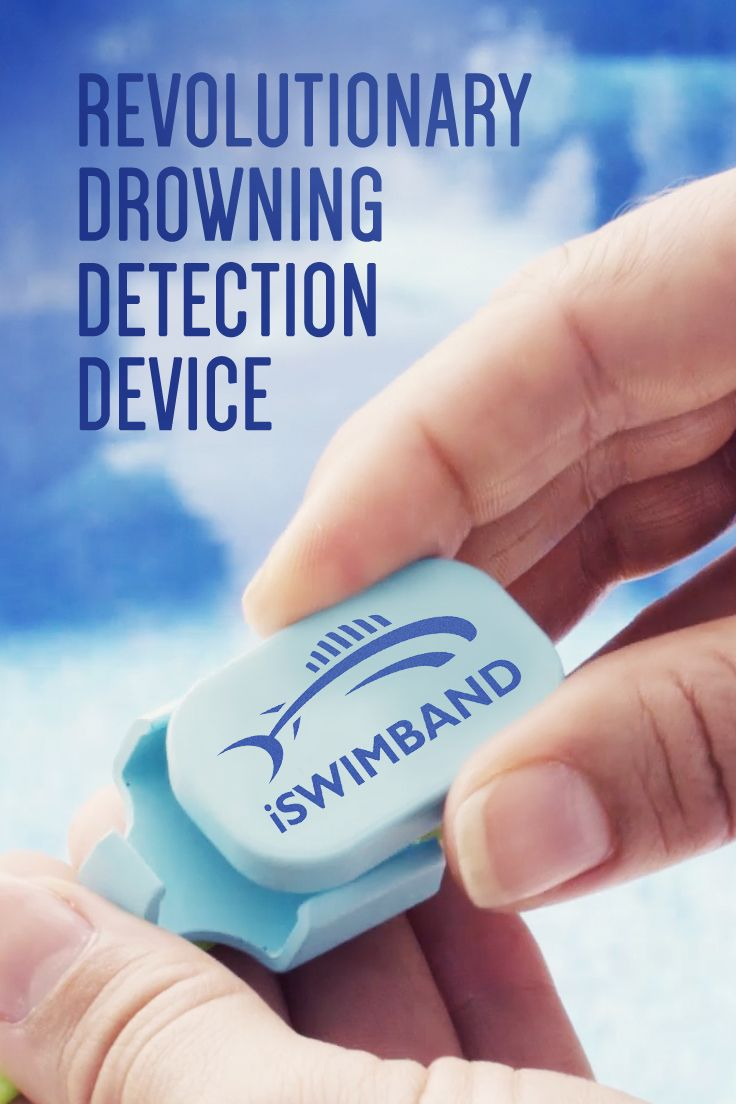 Did you know: drowning is the # 1 cause of death for kids under 5? It's every parent's worst nightmare, but with iSwimband's life-saving technology you can watch your kids with peace of mind. Once activated and paired with our free app, iSwimband sends an