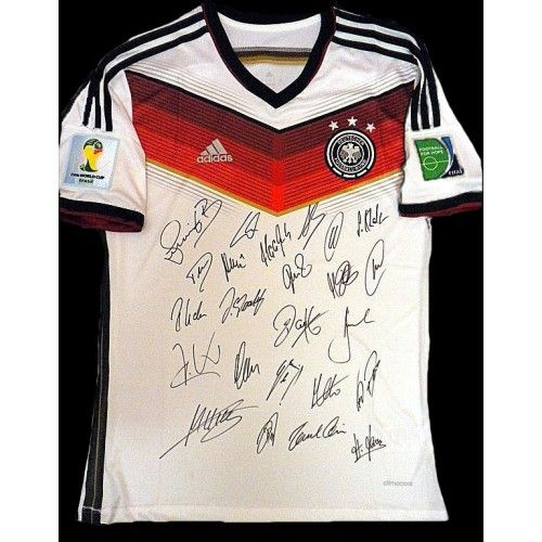 Germany World Cup signed Soccer Shirt.