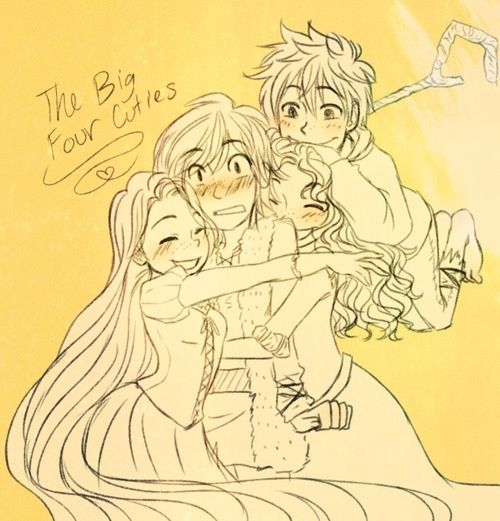 merida hiccup jack rapunzel | Fan art) Merida, Rapunzel, Jack et Hiccup - The Big Four - Page 14