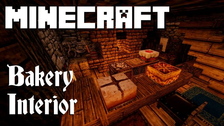 Minecraft: Bakery Interior (Graywatch)