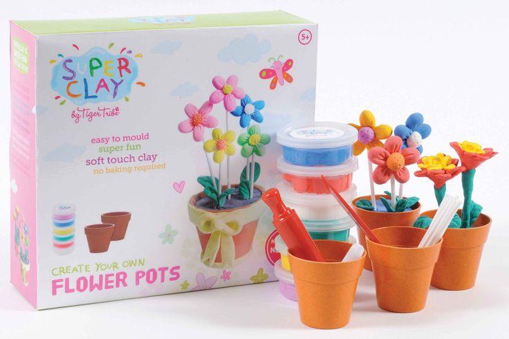 Super Clay - Flower Pot