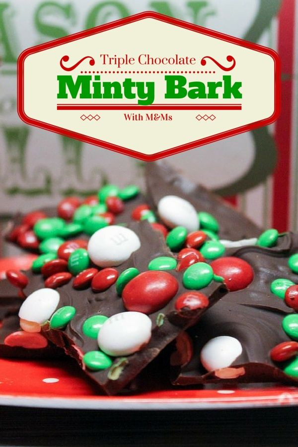 150 best christmas images on pinterest christmas presents all spend the holidays with mms glad triple chocolate minty bark recipe holidaybaking solutioingenieria Gallery