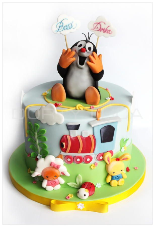 Krtek - Cake by Dorty LuCa